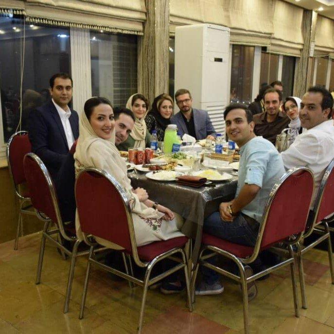 برگزاری ضیافت افطاری و شام به مناسبت ماه مبارک رمضان