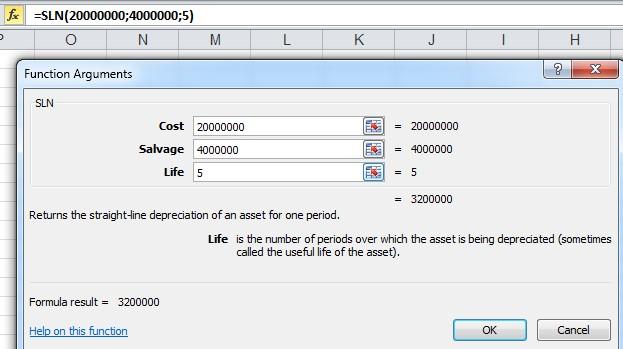 نحوه ی کاربرد یکی از توابع اکسل در حسابداری
