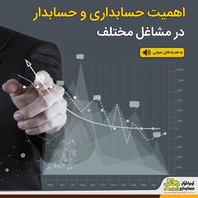 اهمیت حسابداری و حسابدار در مشاغل مختلف