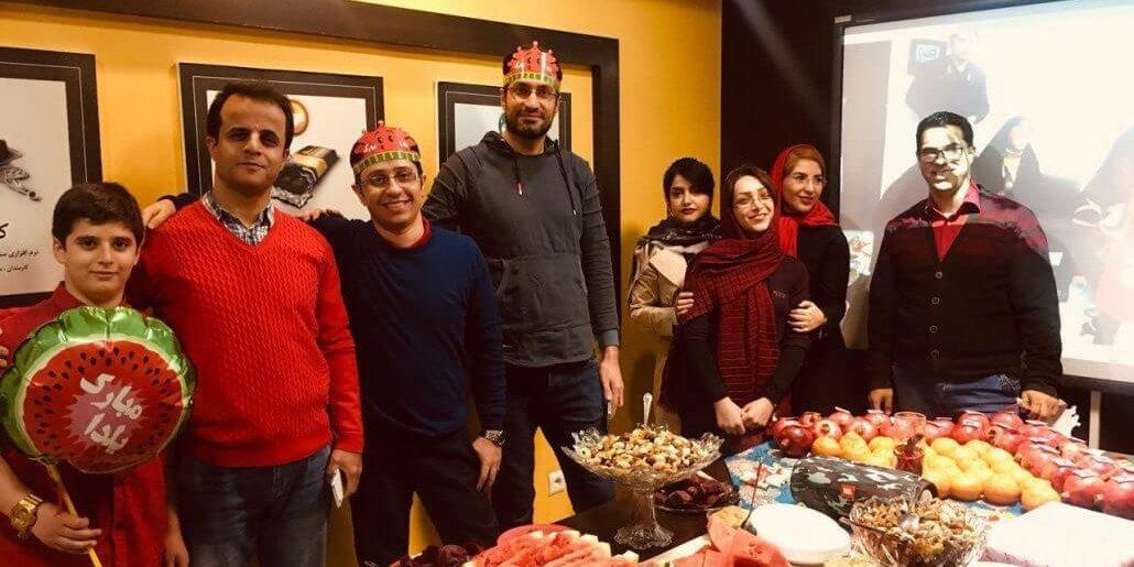 برگزاری جشن شب یلدا ۹۷