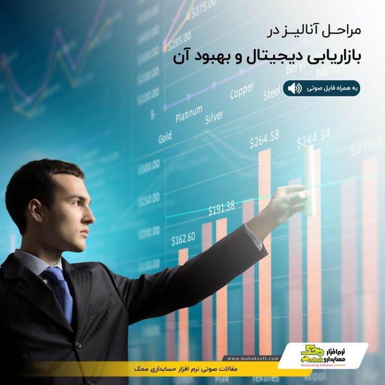 مراحل آنالیز در بازاریابی دیجیتال و بهبود آن