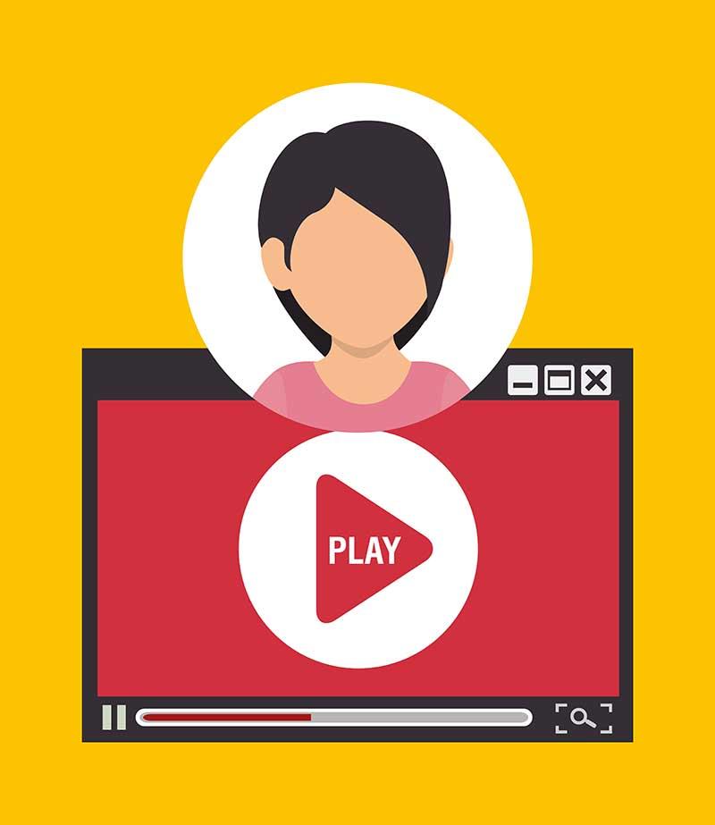 جذاب تر شدن سایت شما توسط ویدئو مارکتینگ