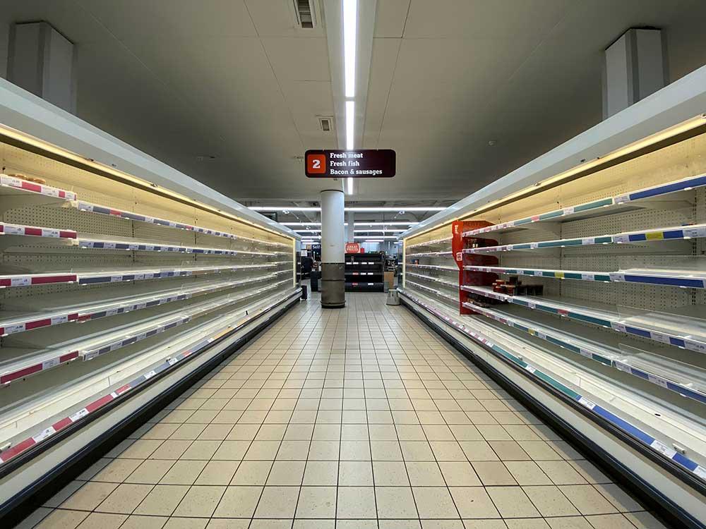 راه اندازی سوپر مارکت