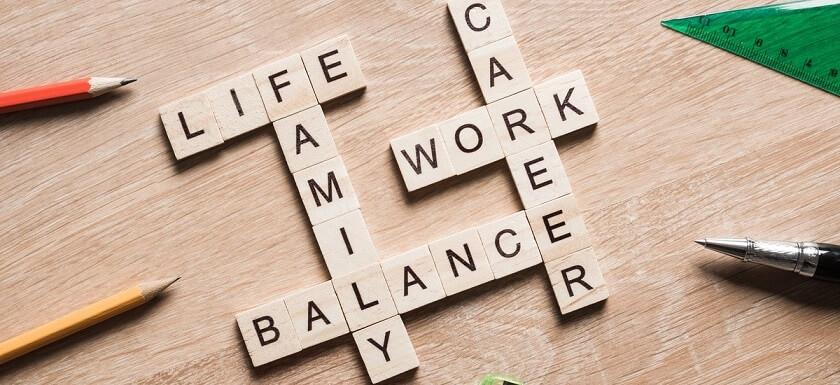 نحوه تعادل بین کار و خانه
