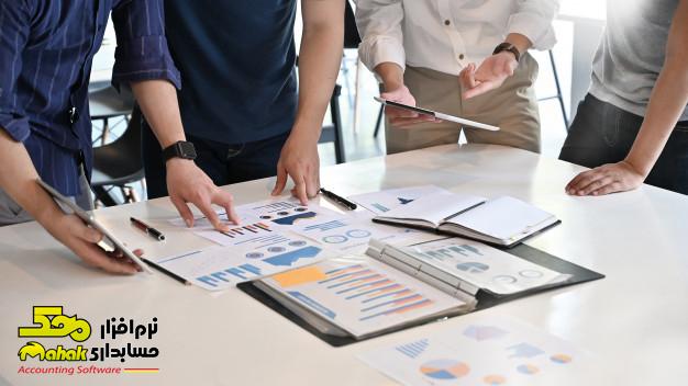 بخشهای اصلی فعالیت نرمافزارهای حسابداری شرکتی