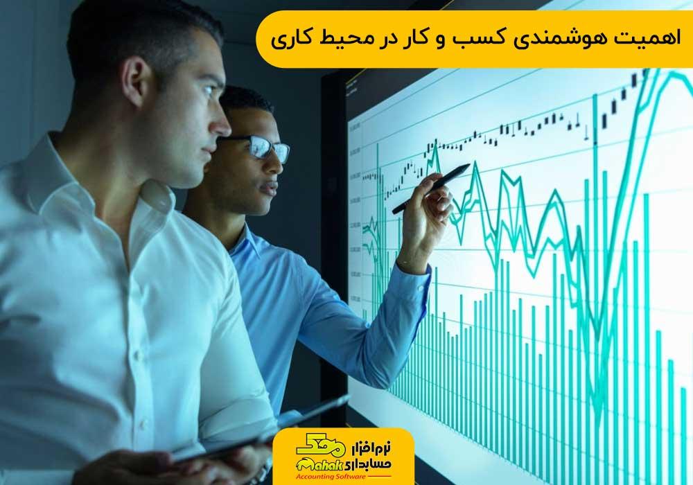 اهمیت هوشمندی کسب و کار در محیط کاری