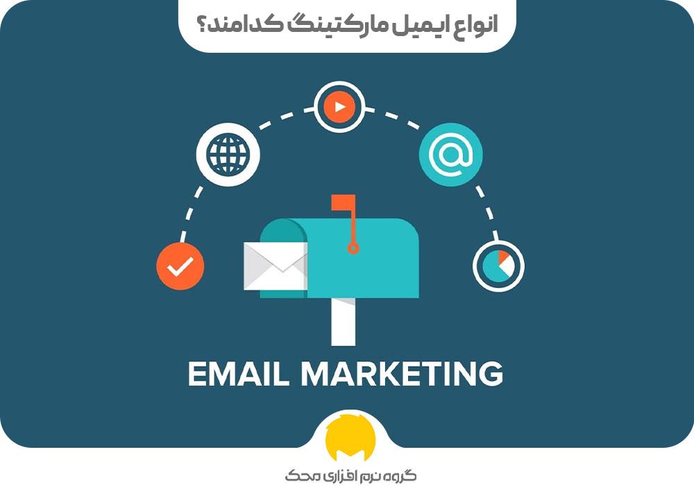 انواع ایمیل مارکتینگ کدامند؟
